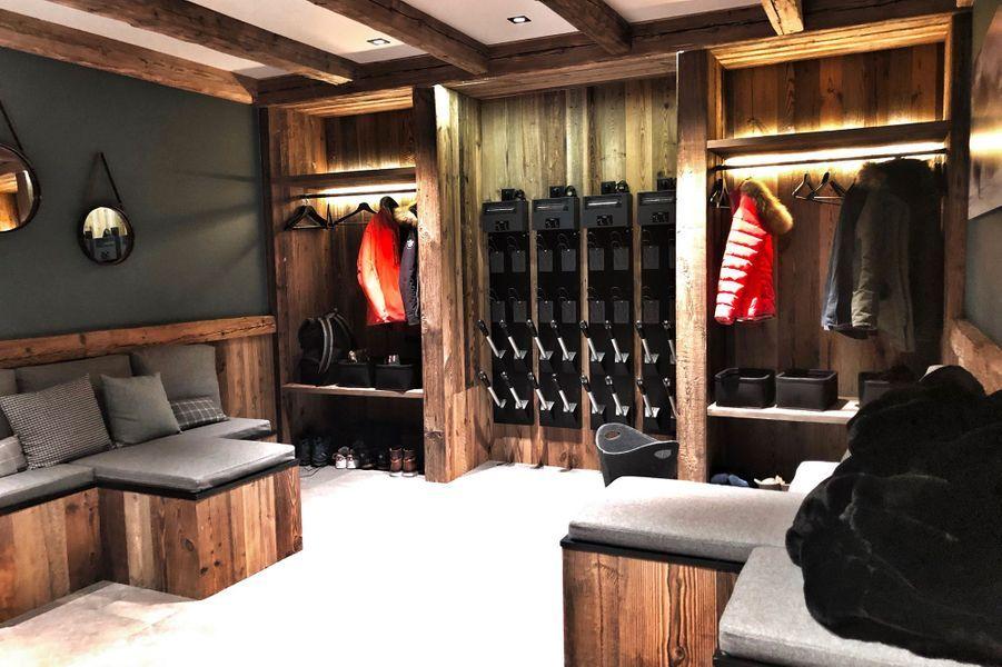 La skiroom.