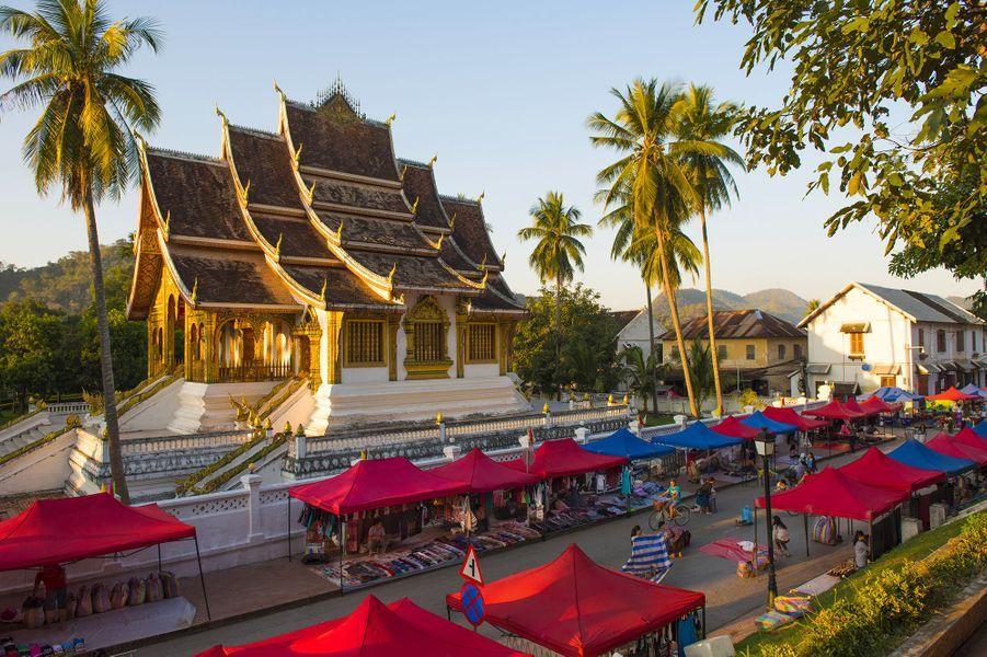 Temple àLuang Prabang (Laos).