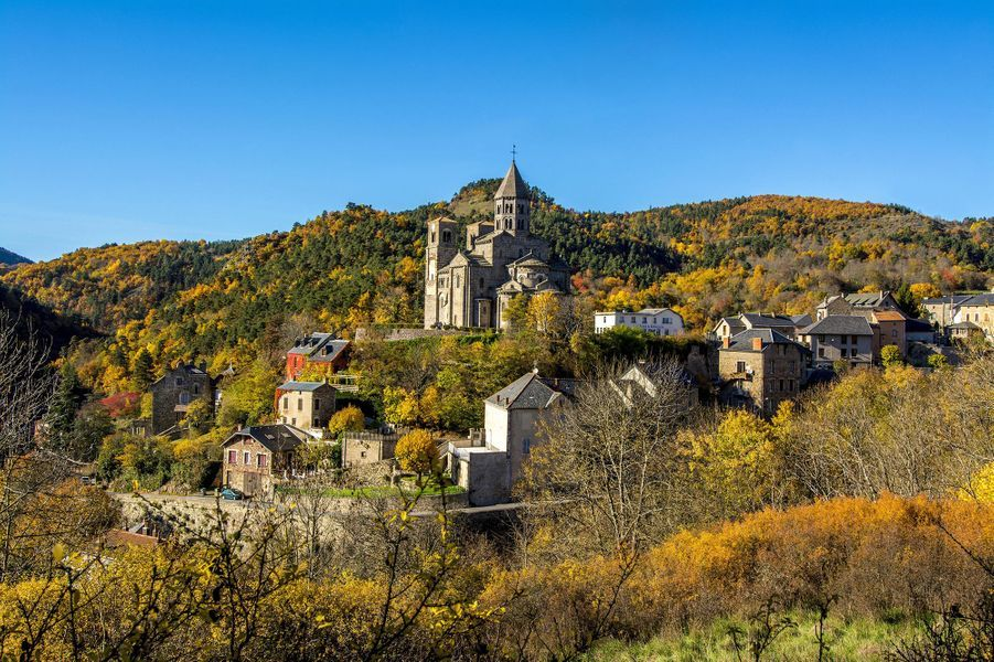 L'Église de Saint-Nectaire.