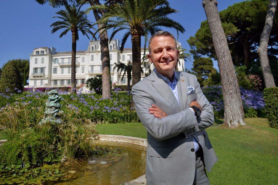 Philippe Perd, directeur de l'hôtel depuis 2005