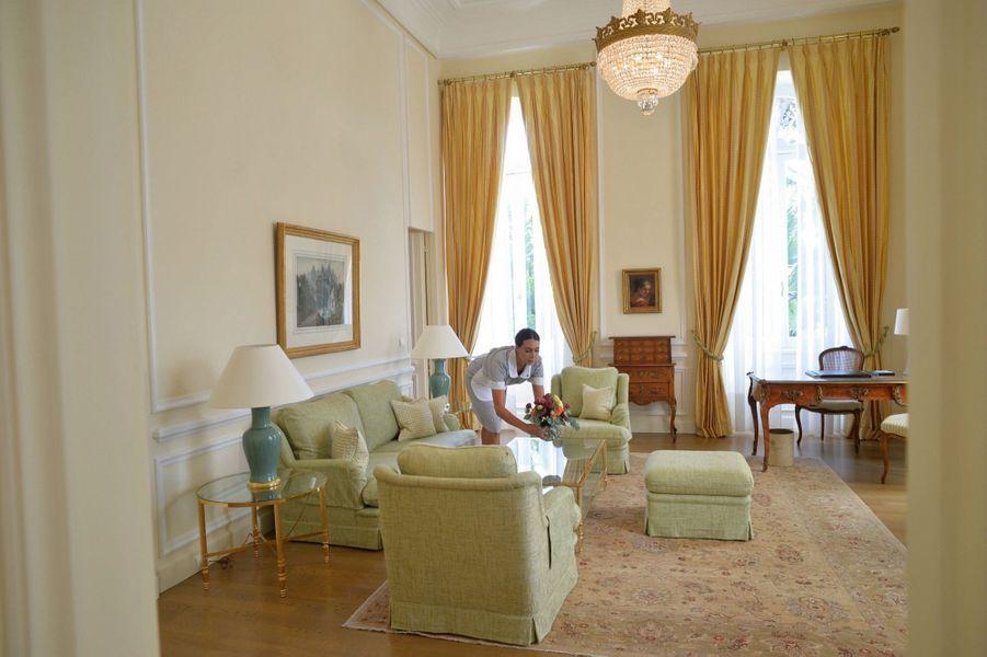 L'une des 86 chambres traditionnelles de l'hôtel du Cap