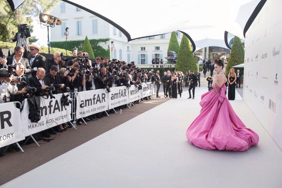 Le mannequin Coco Rocha en 2019.