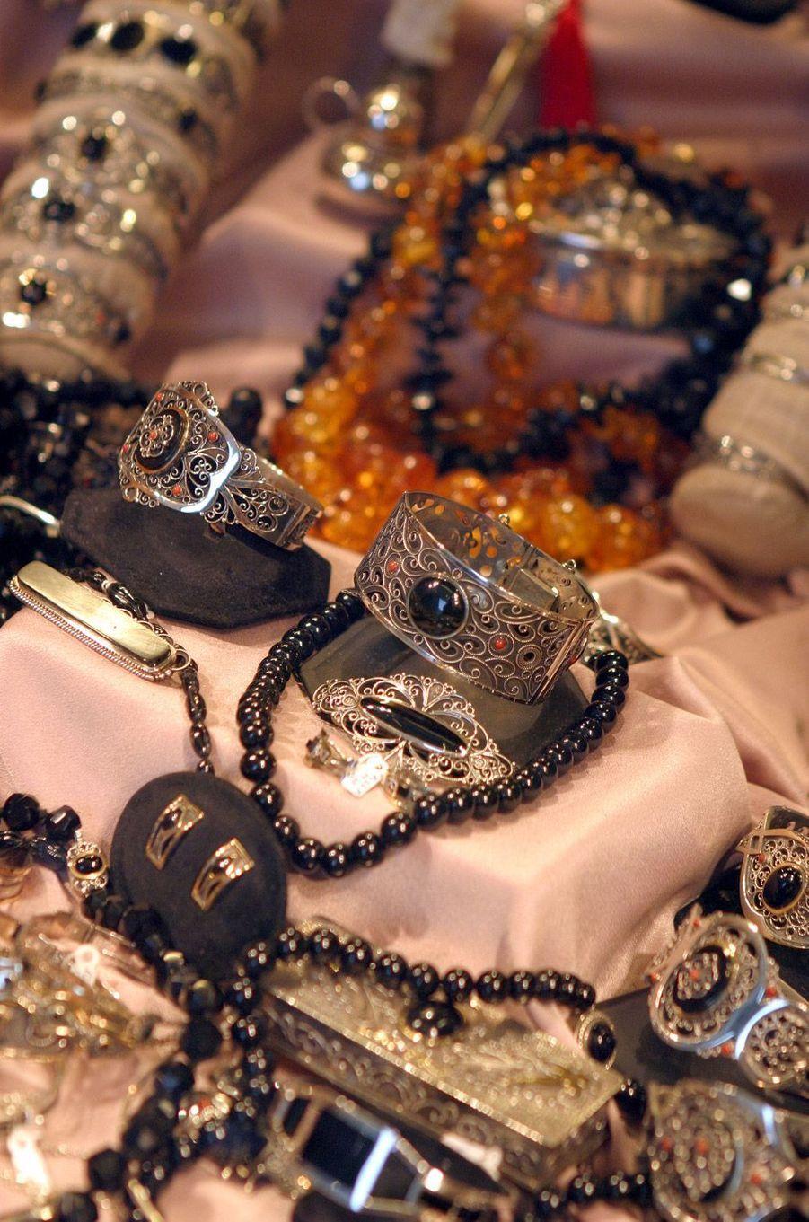 Bijoux en argent typiques de Saint Jacques de Compostelle