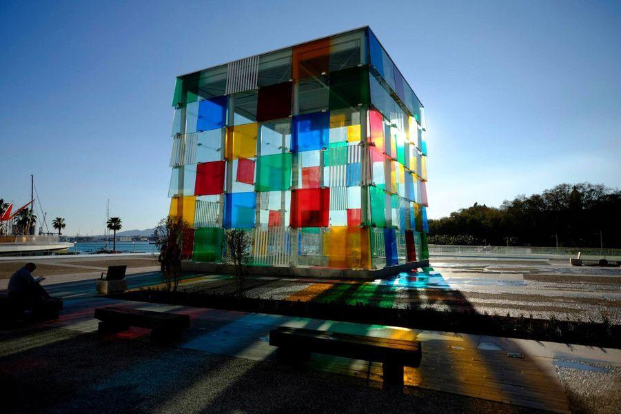 Le centre Pompidou de Malaga