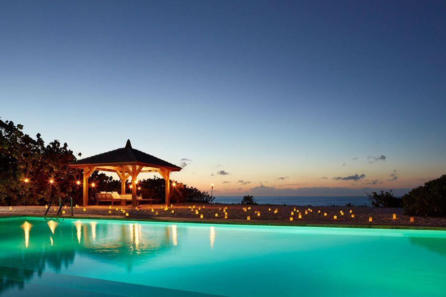 Une des villas del'hôtel Como Parrot Cay.