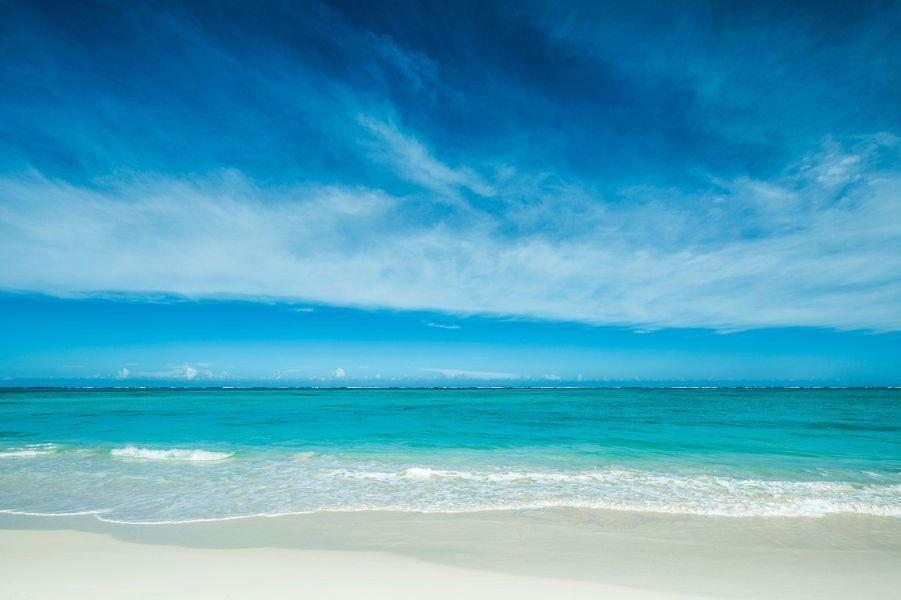 La plagede l'hôtel Como Parrot Cay