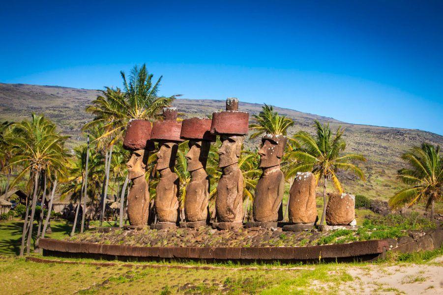 Pour la troisième étape de notre tour du monde exceptionnel avec Safrans du monde, notre reporter nous raconte son coup de foudre pour l'Ile de Pâques.