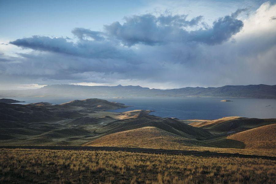Le lac Titicaca.