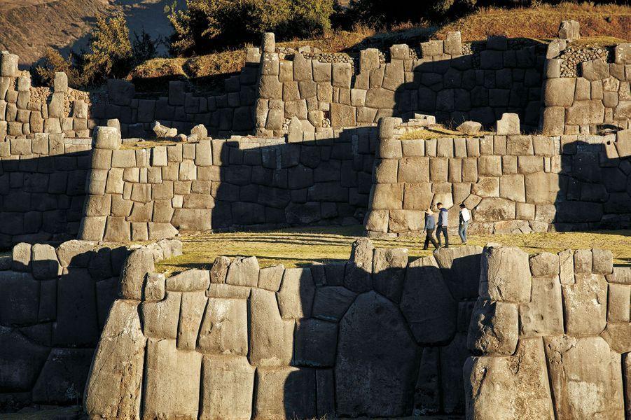 Des ruines Incas.