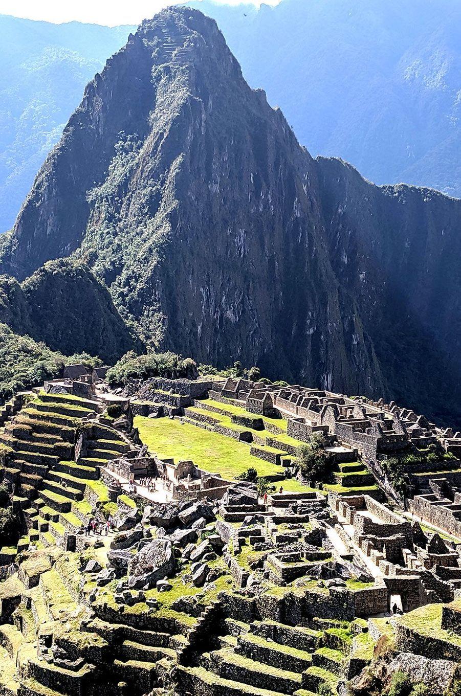 Le Machu Picchu classé au Patrimoine Mondial de l'Unesco.