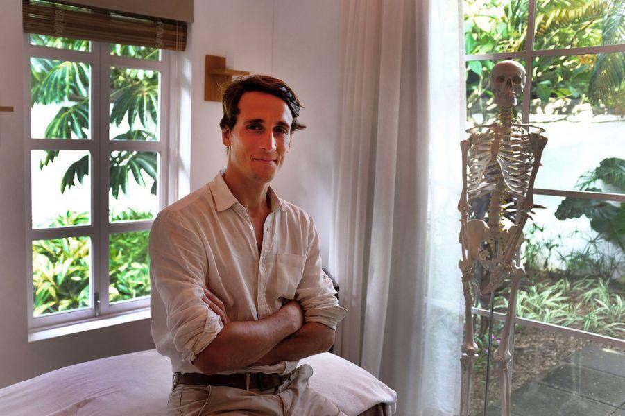 Mathieu, de l'hôtelHeritage Le Telfair