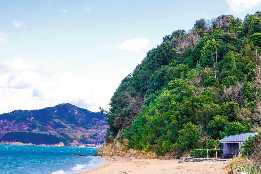 La baie de Setouchi, dans la mer intérieure de Seto, qui forme le parc national de Setonaikai.