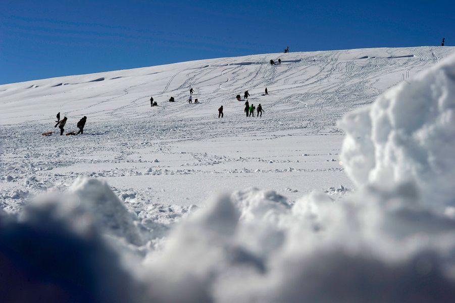 Le domaine skiable à deux pas de l'hôtel Michlifen Resort and Golf.