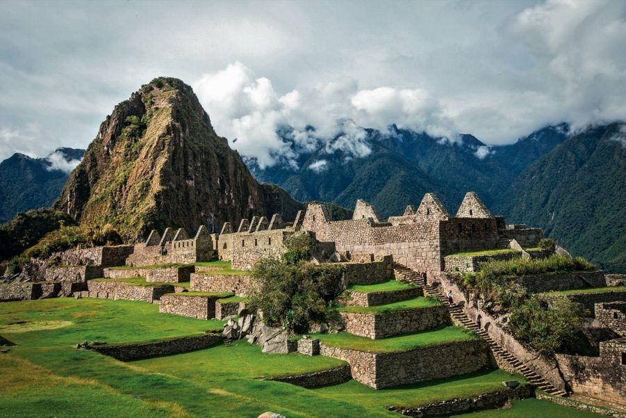 Au Pérou, le Machu Picchu sans touristes visibles : un moment rare de nos jours.