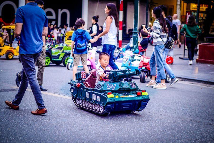Photo prise à Hanoï.