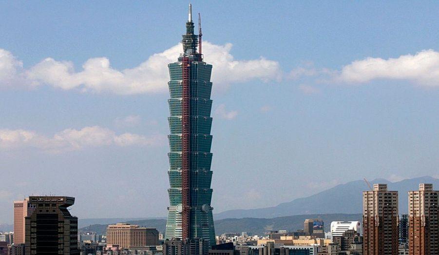 Achevée en 2004 à Taïwan, la tour Tapei mesure 508 mètres (101 étages).