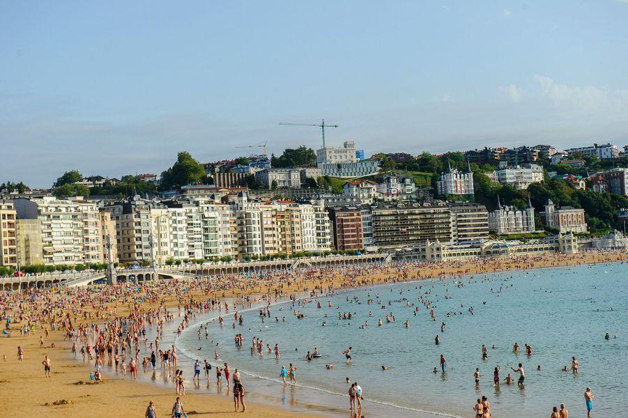 N°1: La Concha Beach, Saint-Sébastien (Espagne)