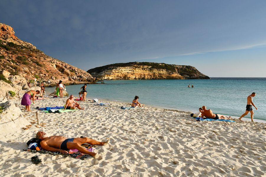 N°2: Plage des Lapins, Lampedusa (Italie)