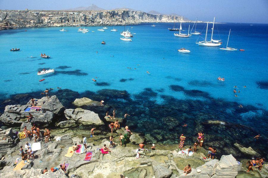 N°9: Spiaggia di Cala Rossa, Favignana (Italie)