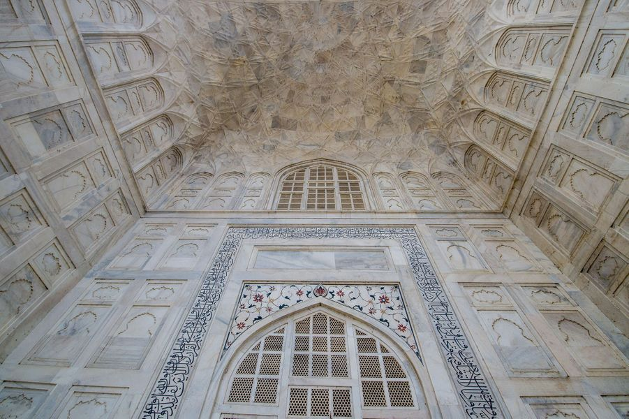 Taj Mahal, Agra (Inde)