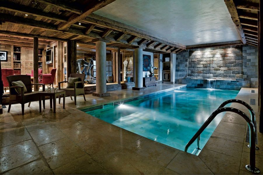La piscine en sous-sol