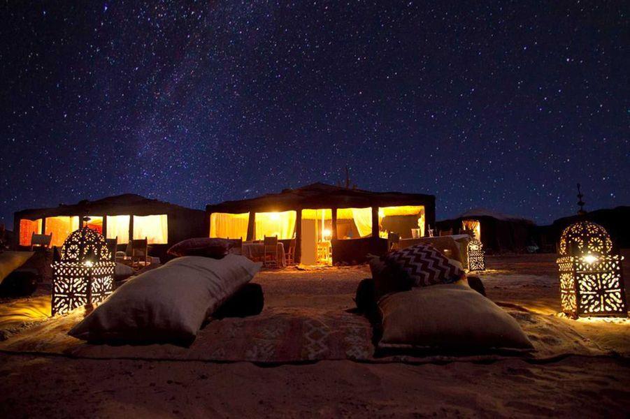 Les tentesKam Kam Dunes,Merzouga (Maroc)