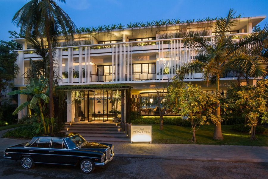 3.Viroth's Hotel, Siem Reap (Cambodge)