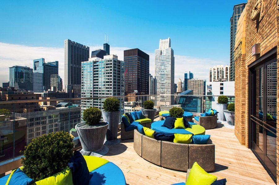 Le Virgin Hotels de Chicago, États-Unis