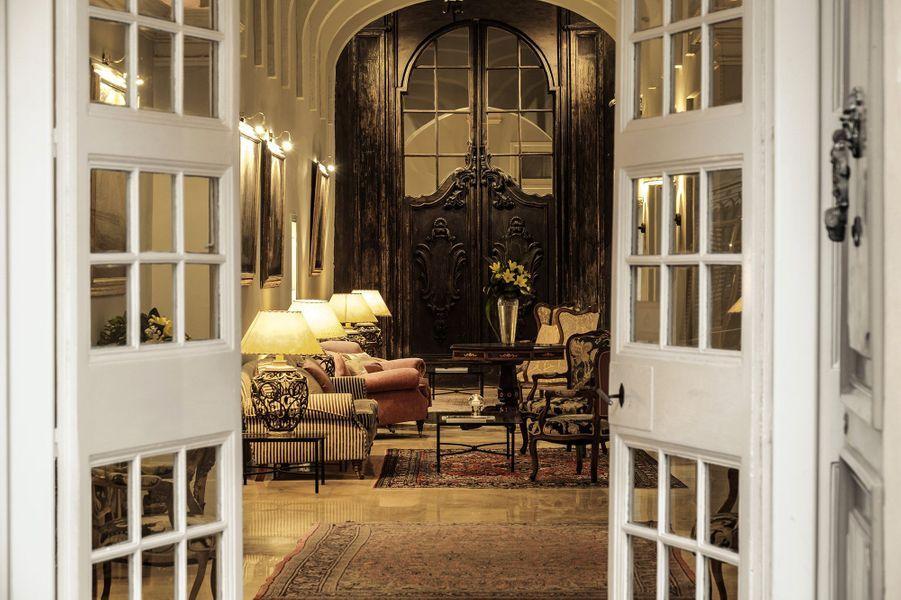 Première étape: A Malteau Relais & Châteaux Xara Palace, un palais du XVIIème siècle, pour découvrir des lieux chargés d'histoire.