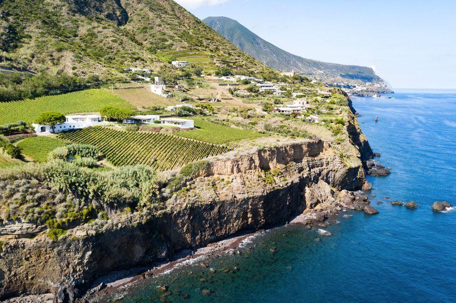 Troisième étape: A Salina dans les îles éoliennesau Relais & Châteaux Capofaro Locanda et Malvesia