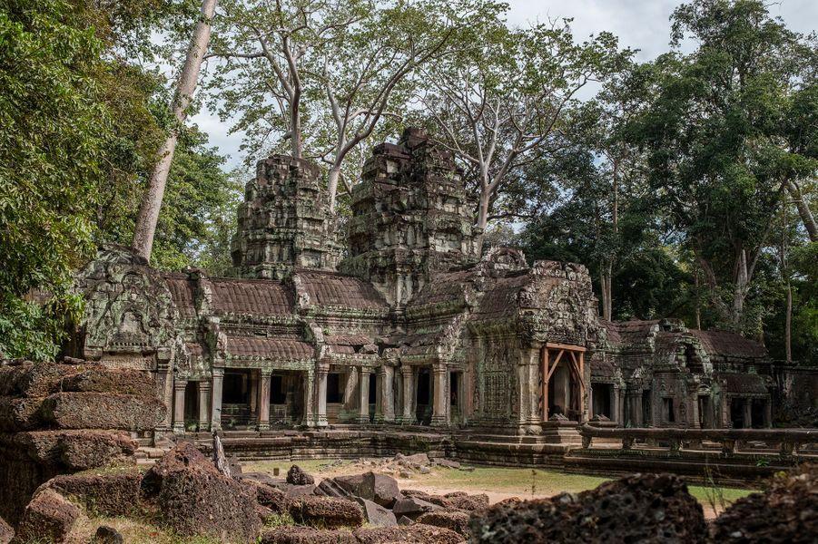 Le mythique temple d'Angkor, Cambodge.