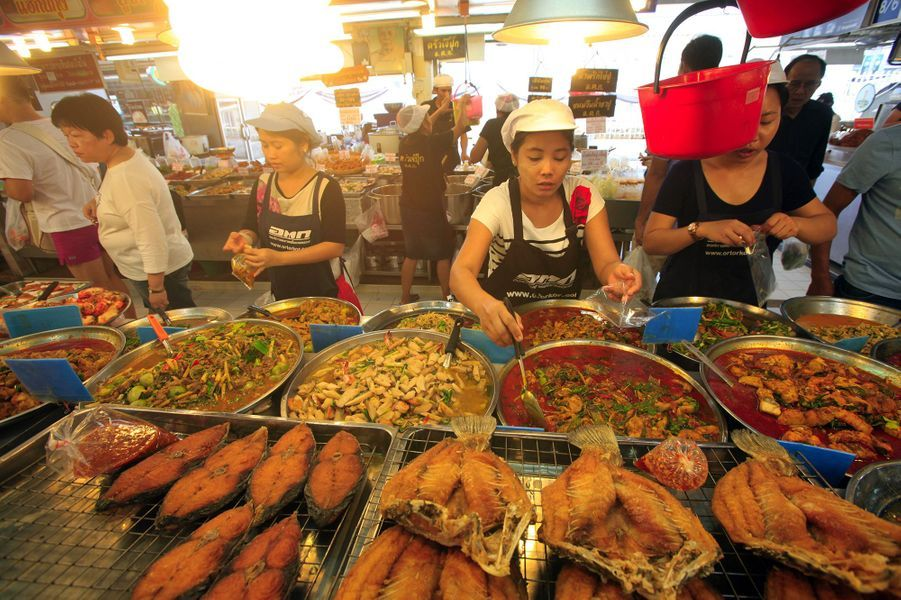 "La ""street food"" thaïlandaise, à Bangkok."