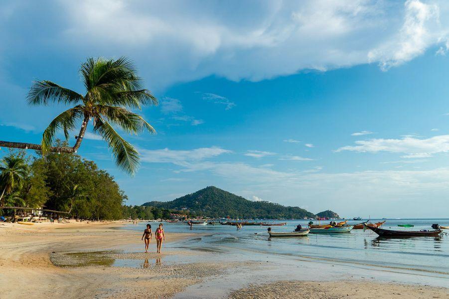 L'île de Koh Tao, en Thaïlande.