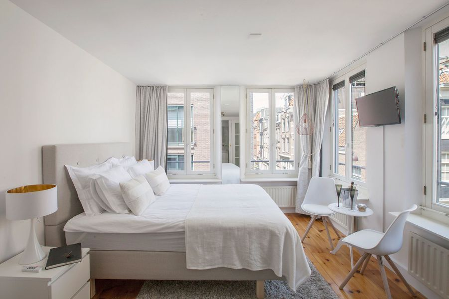 Le Jordaan Suite bed and bubbles, a Amsterdam (Pays-Bas).