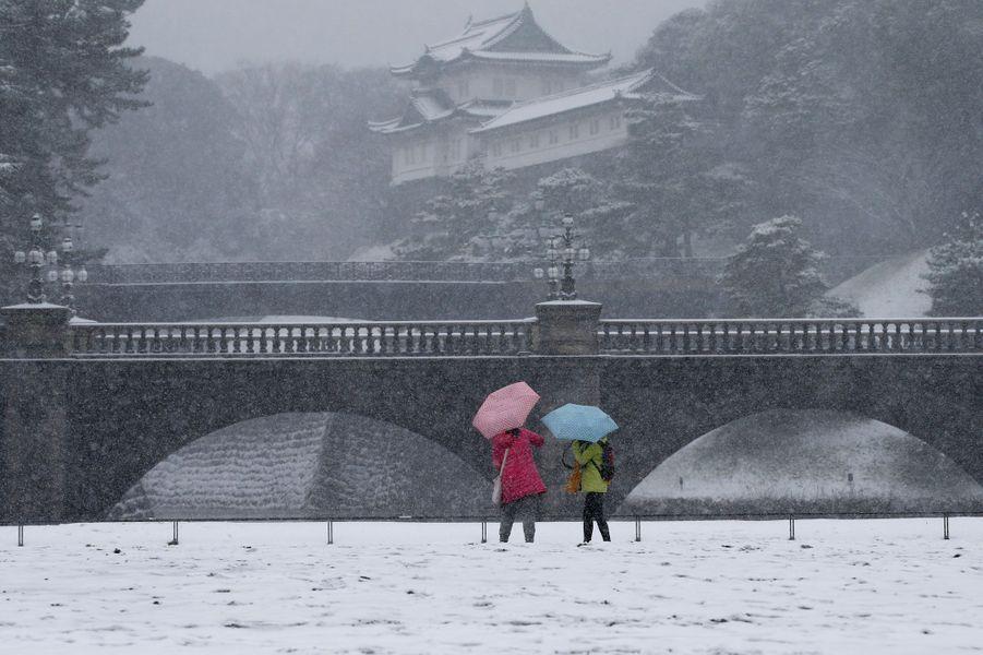 Tokyo sous la neige