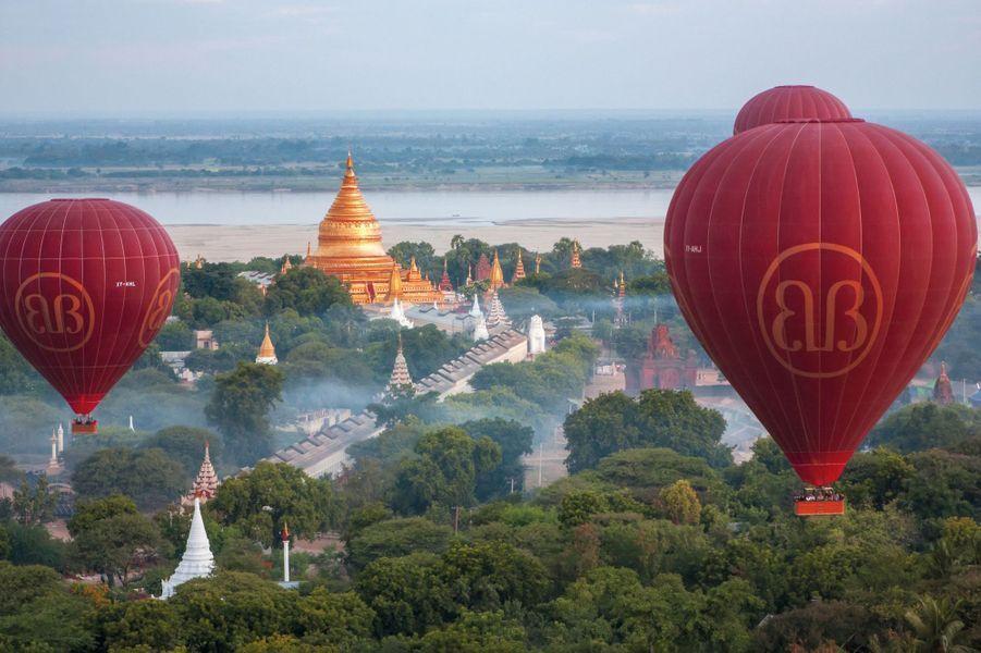 Mandalay et Bagan : quand Bouddha nous élève en montgolfière
