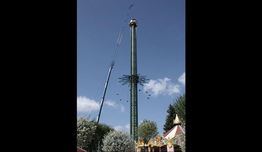 Le plus haut manège du monde au parc Prater de Vienne