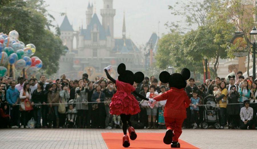 Parc Disneyland à Hong Kong