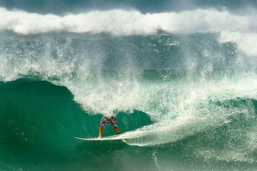 Les vagues deBrisbane, Australie.