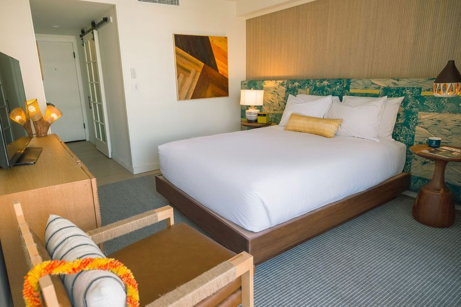 Où dormir àHonolulu : au Surfjack Hotel & Swim Club.