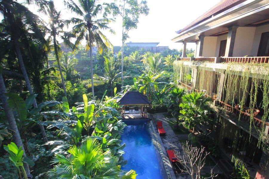 """Meilleure destination """"Culture"""" :Alam Terrace Cottages,Ubud (Indonésie)."""