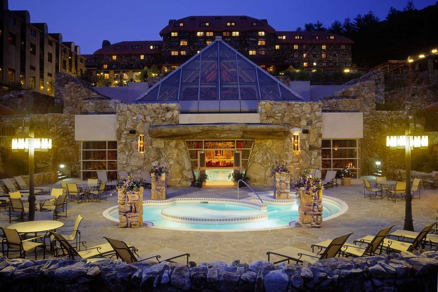 "Meilleure destination ""Nourriture"" :Omni Grove Park Inn, Asheville(Etats-Unis)."