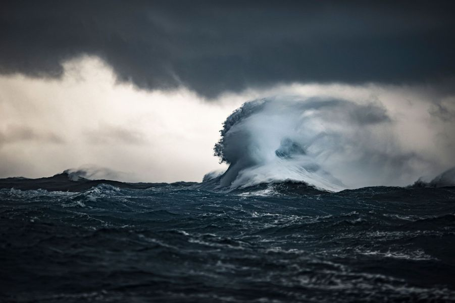 La vague mythique de Teahupo'o