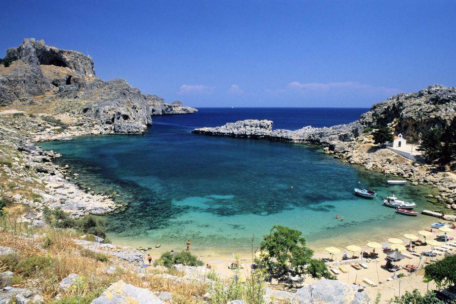 13. Agios Pavlos Beach, Lindos (Grèce)