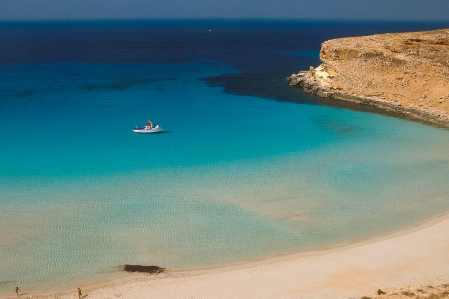 5. Plage des Lapins, Lampedusa, Sicile (Italie)