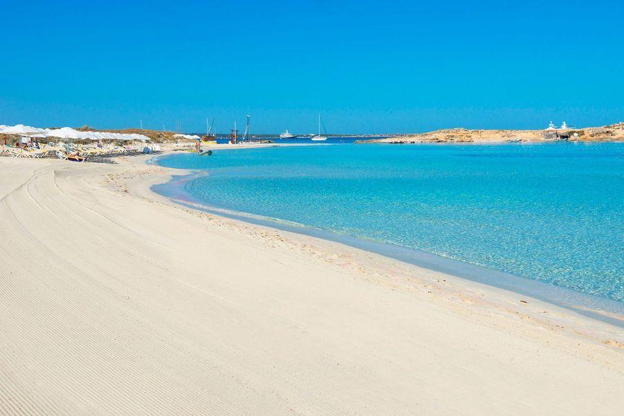 6. Plage de Ses Illetes, Formentera, Iles Baléares (Espagne)