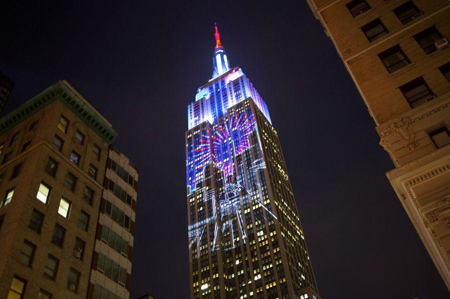 Le Langham Place offre une vue sur l'Empire State Building de New-York.