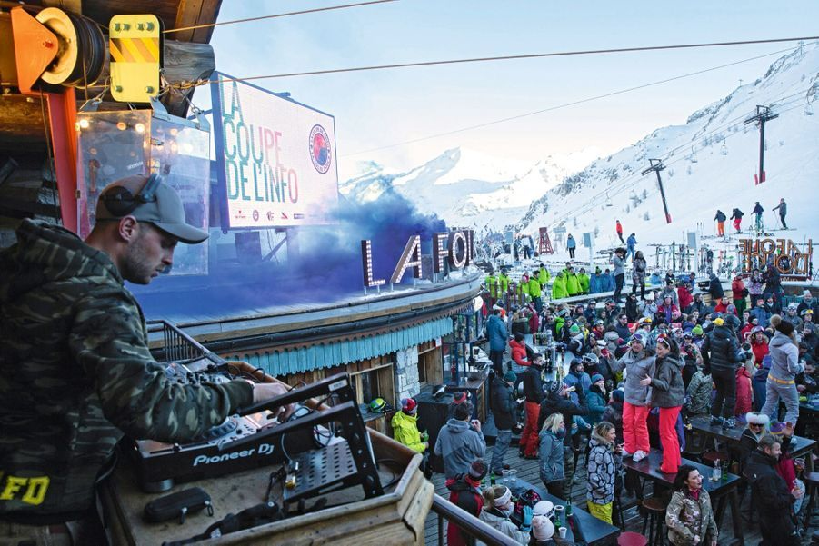 Dernier morceau avant la fermeture. Le retour vers Val-d'Isère se fera avec les œufs pour certains, à skis pour les plus aventureux.
