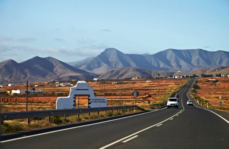 Partout sur l'île, un paysage volcanique.