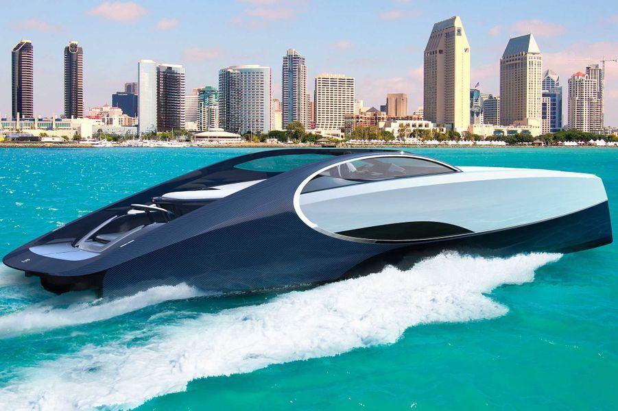 Le yacht Niniette 66 de Bugatti